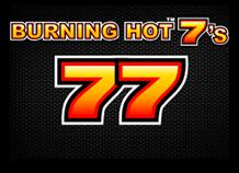 Игровой автомат Burning Hot 7's играть онлайн