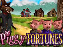Играйте онлайн в сказочный автомат Piggy Fortunes